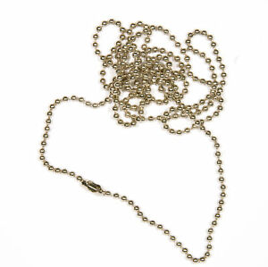 10-x-30-039-039-Steel-Ball-Neck-Chains-for-ID-Badges-Free-P-amp-P-UK