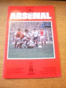 22-03-1980-Arsenal-v-Crystal-Palace-Faint-Fold-No-obvious-faults-unless-des