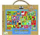 Green Start Giant Floor Puzzles: ABC Animals (35 Piece Floor Puzzles Made of 98% Recycled Materials) by Ikids Ikids (Other book format)