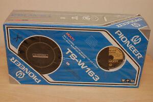 Pioneer-speakers-TS-W163-FAULTY-vintage-car-component-EQ-KEX-KEH-FX-BP