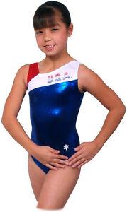 NEW!! Bravo USA Gymnastics Leotard by Snowflake Designs | eBay