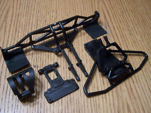 Team-Associated-2WD-SC10-RS-Front-amp-Rear-Bumpers-Chassis-Plate-Arm-Mount-Skid