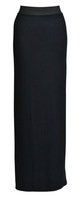 Womens Gypsy Long Jersey Maxi Dress Skirt Ladies Skirt