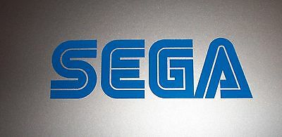 SEGA Logo Vinyl Decal Sticker BLUE 4""