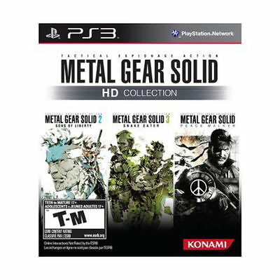 NEW Metal Gear Solid HD Collection  (Playstation 3, 2011)
