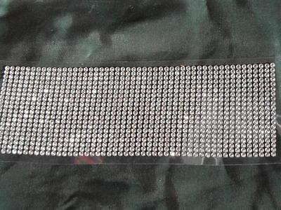 5 x 1000  Strasssteine Glitzersteine selbstklebend  --  Klar  4mm