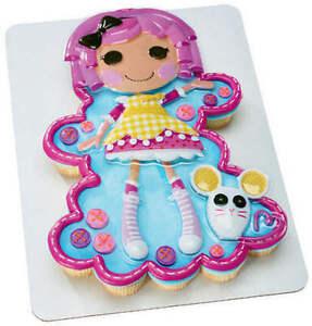 LALALOOPSY SUGAR CREATIONS CUPCAKE DECORATING KIT Cake ...