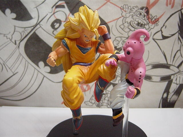 Bandai DragonBall Z Greatest Arts Son Gokuu vs Majin Boo Akira Toriyama Japan