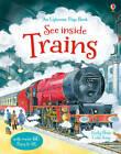 See Inside Trains by Emily Bone (Hardback, 2013)
