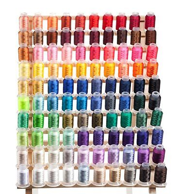100 Spools Embroidery Machine Thread FREE SHIPPING