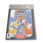 Sonic Heroes -- Platinum Edition (Sony PlayStation 2, 2004) - European Version
