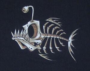 T-Shirt-Bonefish-Fish-Bone-NEU-Groessen-S-bis-3XL