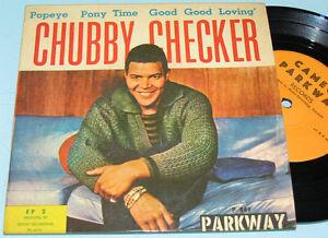 BOBBY-RYDELL-CHUBBY-CHECKER-Rare-ISRAELI-7-034-45-EP-Cameo-Parkway-Northern-Soul