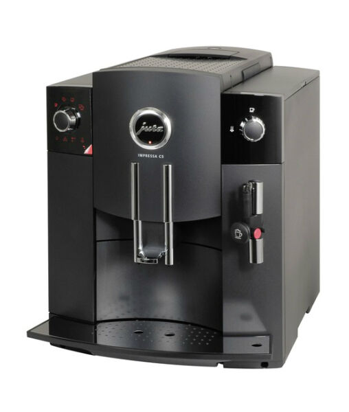 jura impressa c5 schwarz 8 tassen kaffeevollautomat ebay. Black Bedroom Furniture Sets. Home Design Ideas