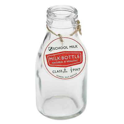dotcomgiftshop TRADITIONAL SCHOOL MILK BOTTLE