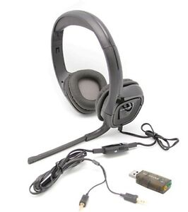 efa0b8280a5 Plantronics Audio 355 Stereo Headset for Music Skype PC MAC w/ FREE ...
