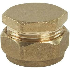 22mm-Brass-Compression-End-Caps-End-Stop-Choose-from-8mm-to-54mm