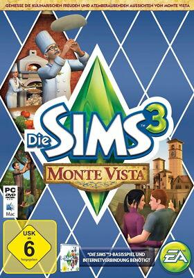 Die Sims 3: Monte Vista (PC/Mac, 2012, DVD-Box)