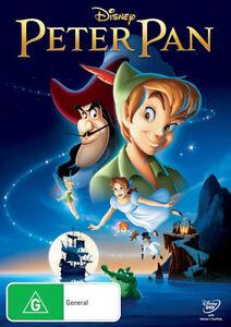 Peter-Pan-DVD-Disney-Classic-New-and-Sealed-Australia-Region-4