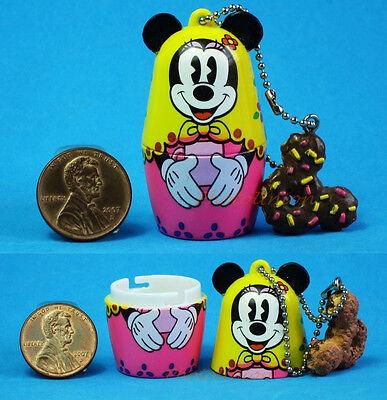 Disney Nesting Russian Doll Handicrafts Matryoshka Minnie Mouse Donut N42