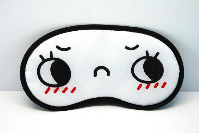 lovely angry face Sleep Masks eye mask  sleeping AB03