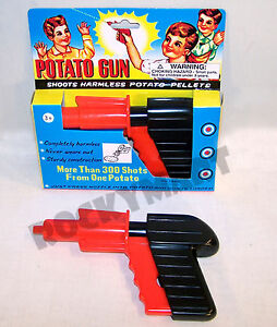 Potato Classic Kids Spud Hand Gun Shoots Harmless Potato Pellets Ages 3+ RM2075
