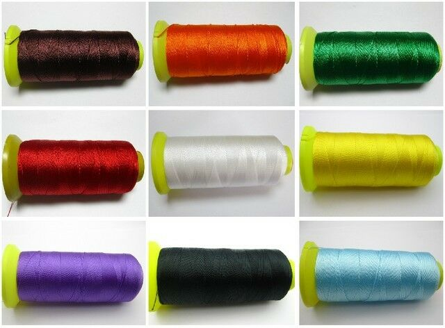 Nylon Beading Thread BEAD Cord String 450Meter 210D/6 PICK YOUR COLOR
