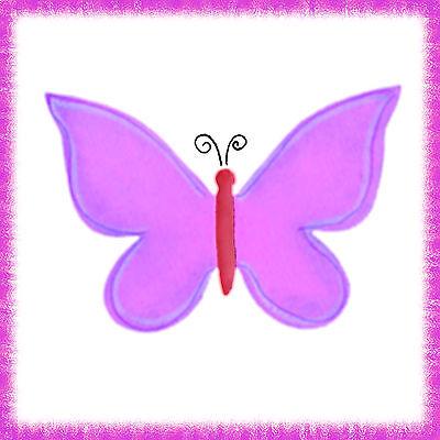Sizzix Bigz Butterfly die #656518 Retail $19.99 Cuts Fabric, BEAUTIFUL!!