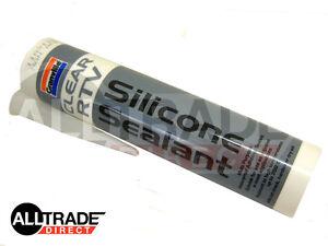 1-x-QUALITY-CLEAR-RTV-SILICONE-SEALANT-310ml-INSTANT-GASKET-HIGH-TEMP-AUTO