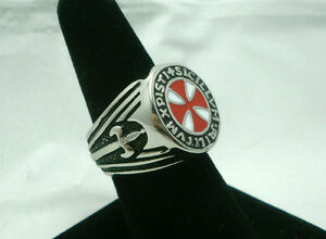 Knights-Templar-Soldiers-of-Christ-Masonic-Ring-Red-Seal