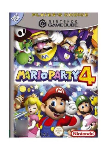 Mario Party 4 (Nintendo GameCube, 2002) FAST FREE AUSSIE SHIPPING
