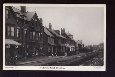 Lincs SKEGNESS Drummond Rd RP PPC 1912