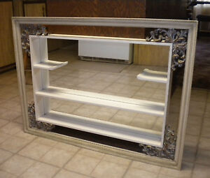 Vintage Turner Ornate Shadow Box Shelf Amp Mirror Wall Decor