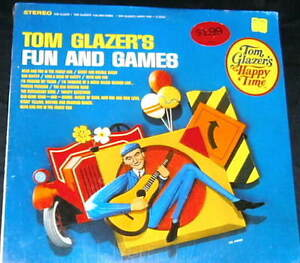 Tom Glazer - Fun And Games In The Family Car