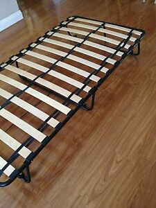 Ikea Folding Roll Away Guest Bed Barely Used Ebay