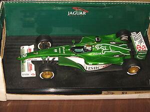 Ultra-rare-1-18-Hot-Wheels-Jaguar-Racing-R1-Season-2000-Eddie-Irvine-NEW