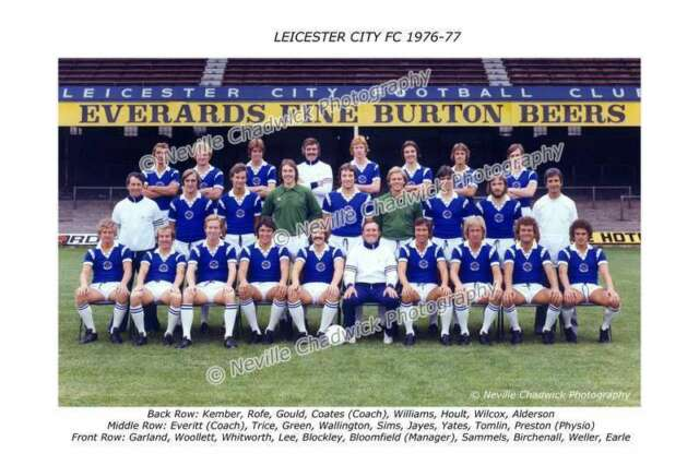 Leicester City Team of 1976-77 Photo