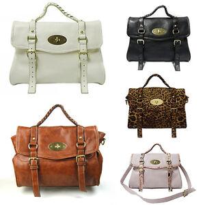 NEW-Lady-039-s-PU-Leather-Shoulder-Handbag-Bag-Purse-E29