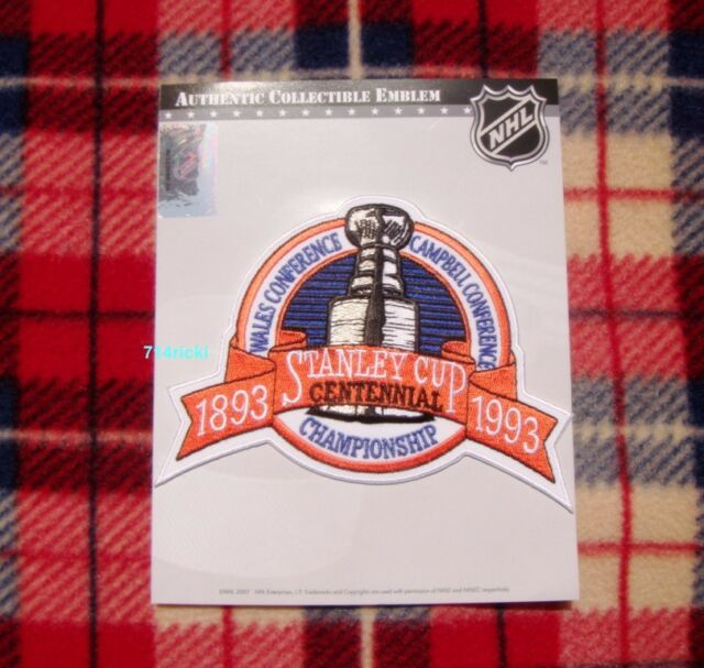 Official 1993 Stanley Cup Final Patch Montreal Canadiens vs Los Angeles Kings