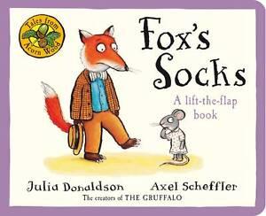 Tales-From-Acorn-Wood-Fox-039-s-Socks-A-lift-the-flap-book-Donaldson-Julia-New