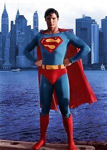 CHRISTOPHER-REEVE-SUPERMAN-8X10-GLOSSY-MOVIE-PHOTO-CITY