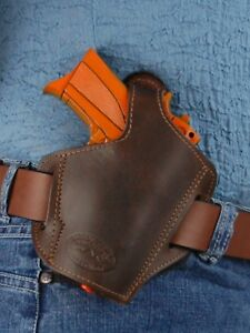 Barsony-Brown-Leather-Pancake-Concealment-Holster-for-Ruger-LC9