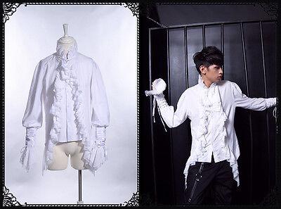 Goth Visual Royal Medieval Celtic Bard Marquis aristocrat dress shirt 91018W