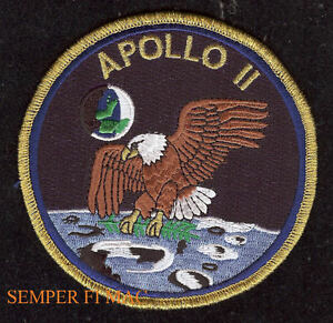 APOLLO 11 EAGLE NASA Patch ASTRONAUT MOON SPACE SHUTTLE ...