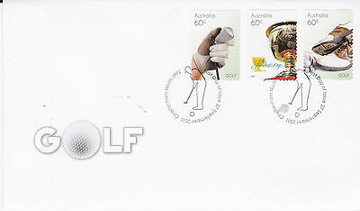 2011 Golf in Australia - FDC (P&S Stamps) Cheltenham North 3192 PMK
