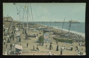 Sussex-BRIGHTON-Palace-Pier-Beach-PPC-nice-scene