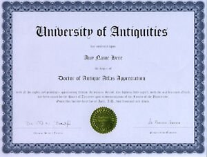 Doctor-Antique-Atlas-Appreciation-Novelty-Diploma