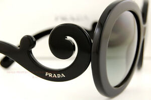 prada handbag - Brand New Prada Sunglasses 27N 27NS 1AB 3M1 Black for Women 100 ...