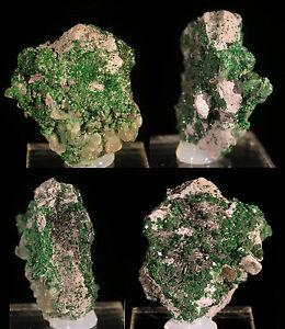 SHUISKITE-UVAROVITE-Mineral-Specimen-Crystal-Ilmenskie-Gori-Sarany-URALS-RUSSIA