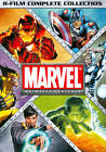 Marvel Animated Features 8-Film Complete Collection (DVD, 2012, 8-Disc Set)